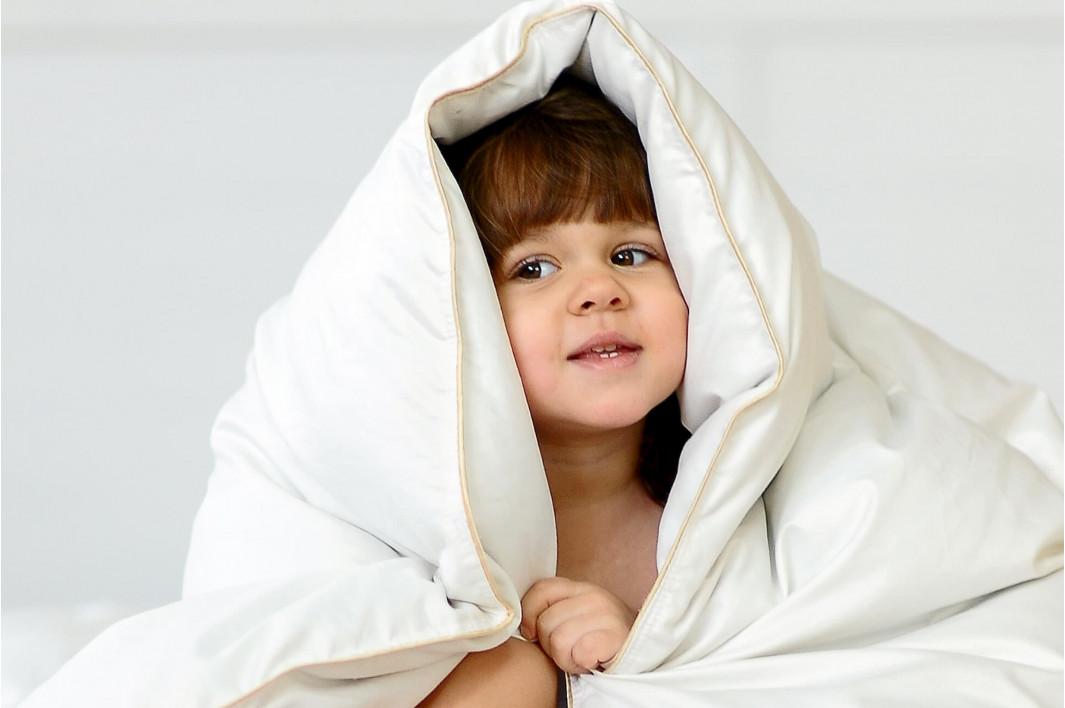 Как выбрать одеяло ребенку?