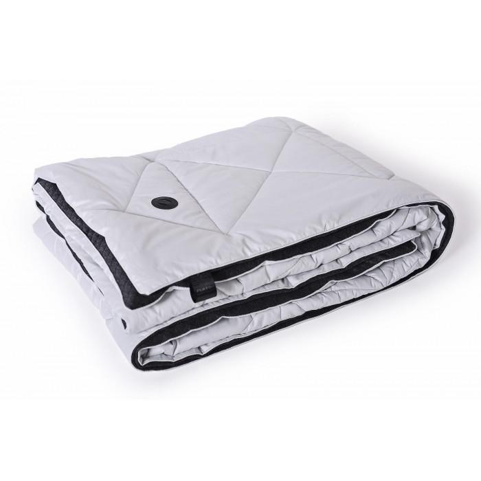 Одеяло «Play» серебристо-серое